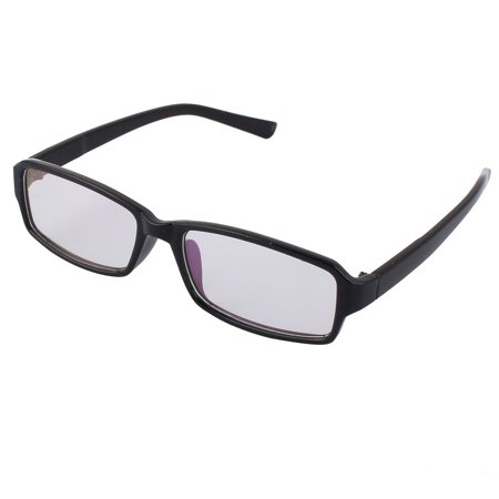 Fashionable Clear Lens Black Frame Plastic Eyewear Plain (Fashionable Safety Glasses)