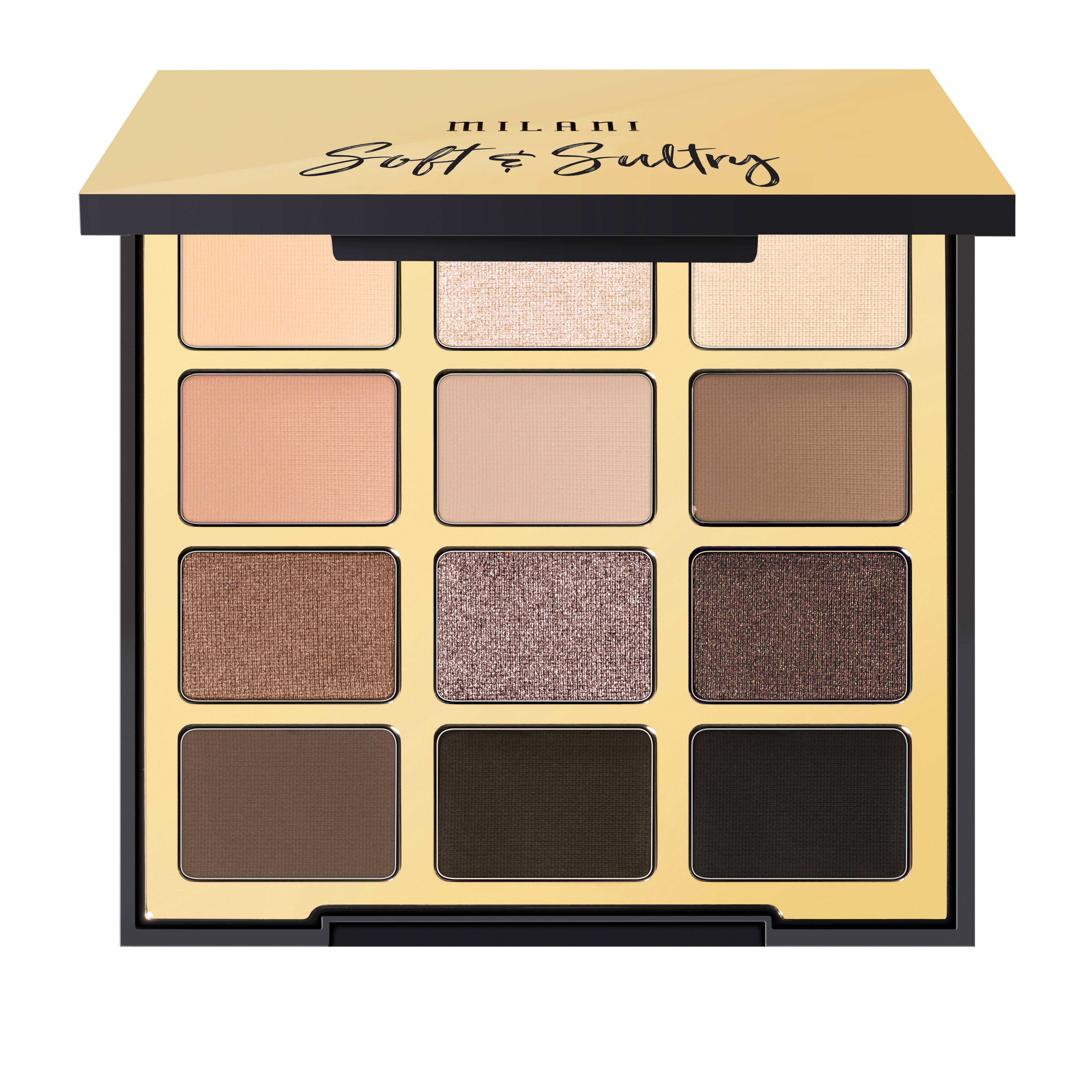 MILANI Cosmetics Eyeshadow Palette - Soft ...