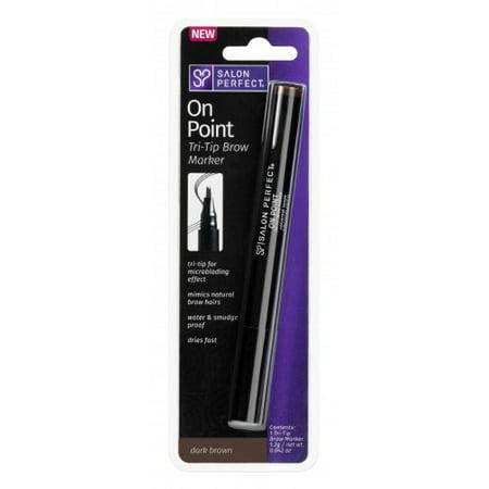 57b7a72cb4d Salon Perfect Brow Marker - Dark Brown - Walmart.com