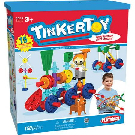 TINKERTOY TINKERTOY TRANSIT BUILDING SET