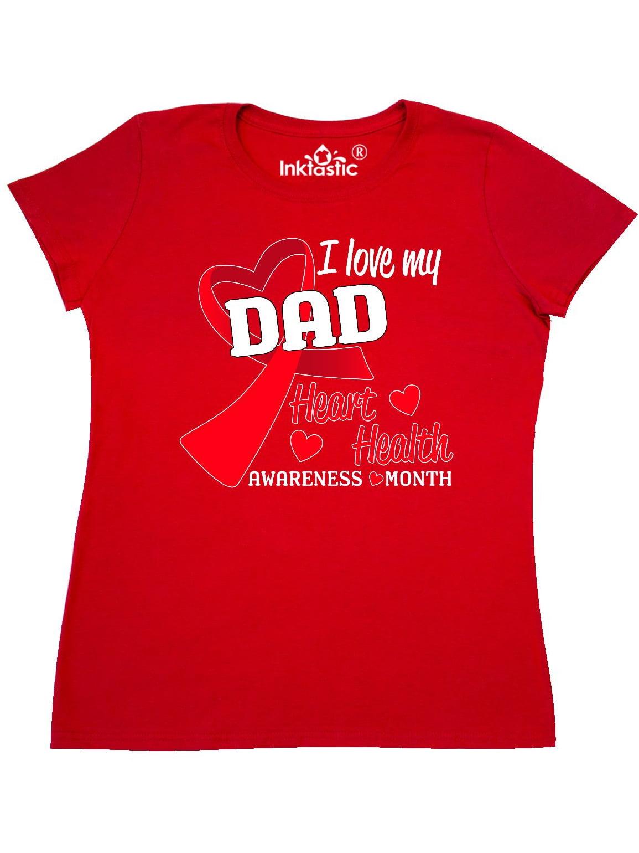 Hearts Baby T-Shirt inktastic I Love My Dad