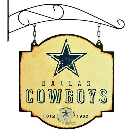 Nfl Pub Sign - Dallas Cowboys Official NFL 16 inch x 16 inch  Tavern Signs by Winning Streak