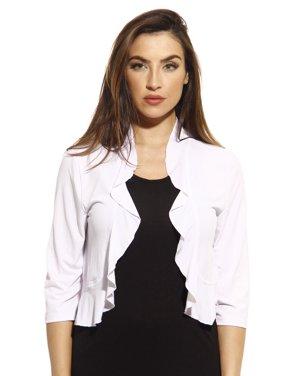 d4a8f1a770c17c Product Image Just Love 3/4 Sleeve Shrug / Shrugs / Women Cardigan