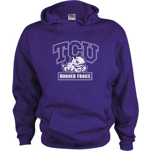 NCAA - TCU Horned Frogs Kids/Youth Perennial Hooded Sweatshirt