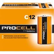Duracell, DURPC1400CT, PROCELL Alkaline C Batteries, 72 / Carton, Black