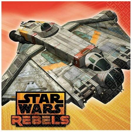 Amscan Star Wars Rebels Birthday Party Beverage Napkins Tableware (16 Pack), 5