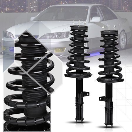 01 Assembly 00 Car - Rear L+R Strut Assembly Shock Absorber+Coil Spring for 92-03 Camry/ES300/Avalon 93 94 95 96 97 98 99 00 01 02