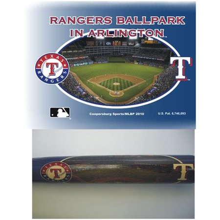 Texas Rangers Team Logo Bat - Royal Blue