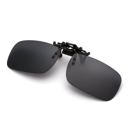 Clip-on Flip-up Lens Day-Night Vision Driving Glasses Sunglasses Eyewear - image 1 de 7