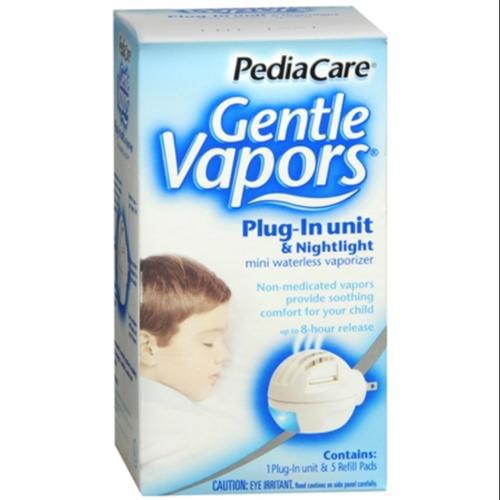 PediaCare Gentle Vapors Vapor-Plug Unit and Nightlight 1 Each (Pack of 4)