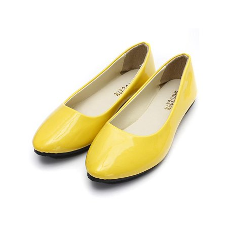 - Women Casual Shoes  Ladies Flat Pumps  Ballerina Slip On Dolly Ballet Shoes Slipper Size 8