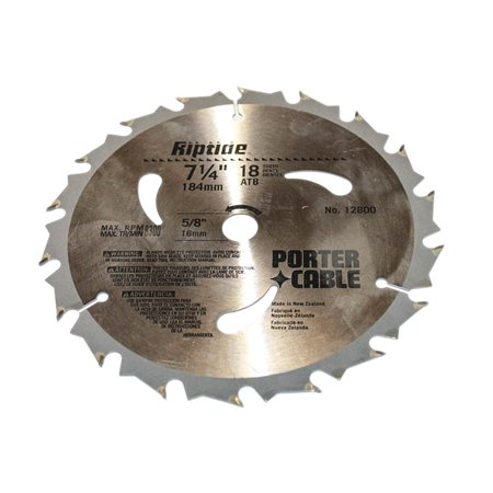 Porter-Cable Tools Riptide 7-1/4-Inch 18 Tooth ATB Thin Kerf Framing S_ (18 Tooth Framing)