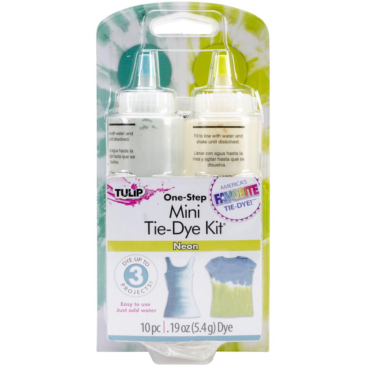 Tulip One-Step Mini Tie-Dye Kit-Neon