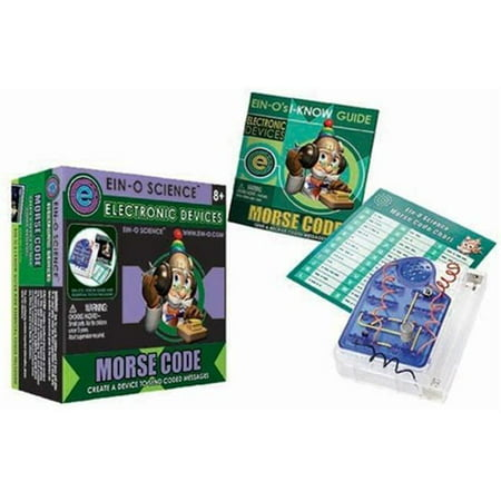 Tedco Toys Morse Code Box Kit