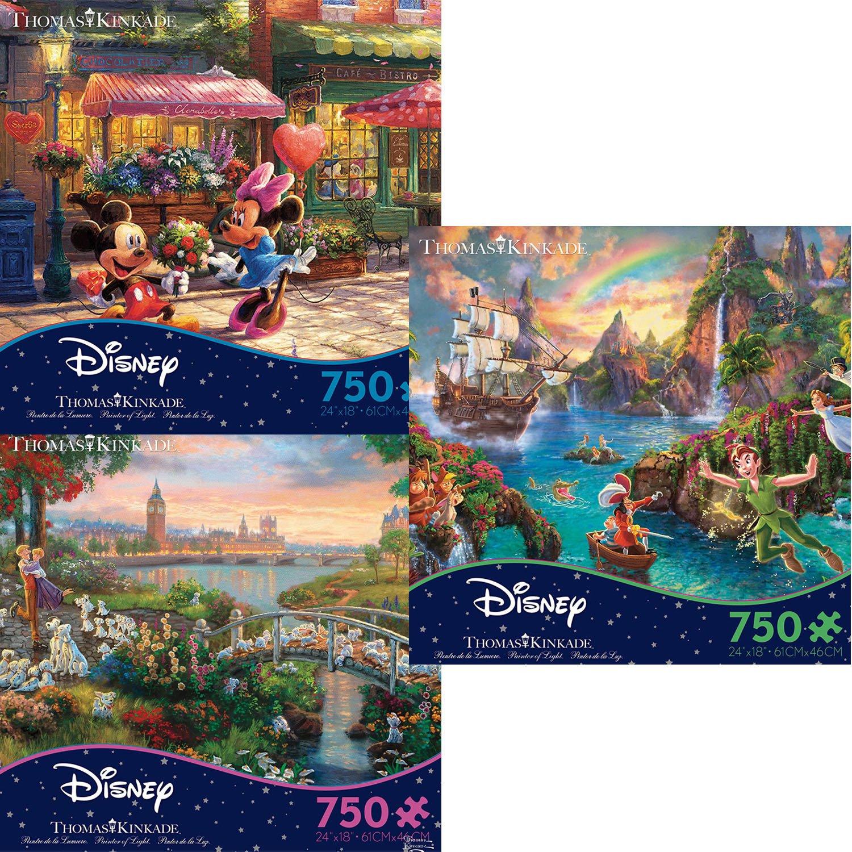 Ceaco Thomas Kinkade Disney Movie Collection 750 Piece Ji...