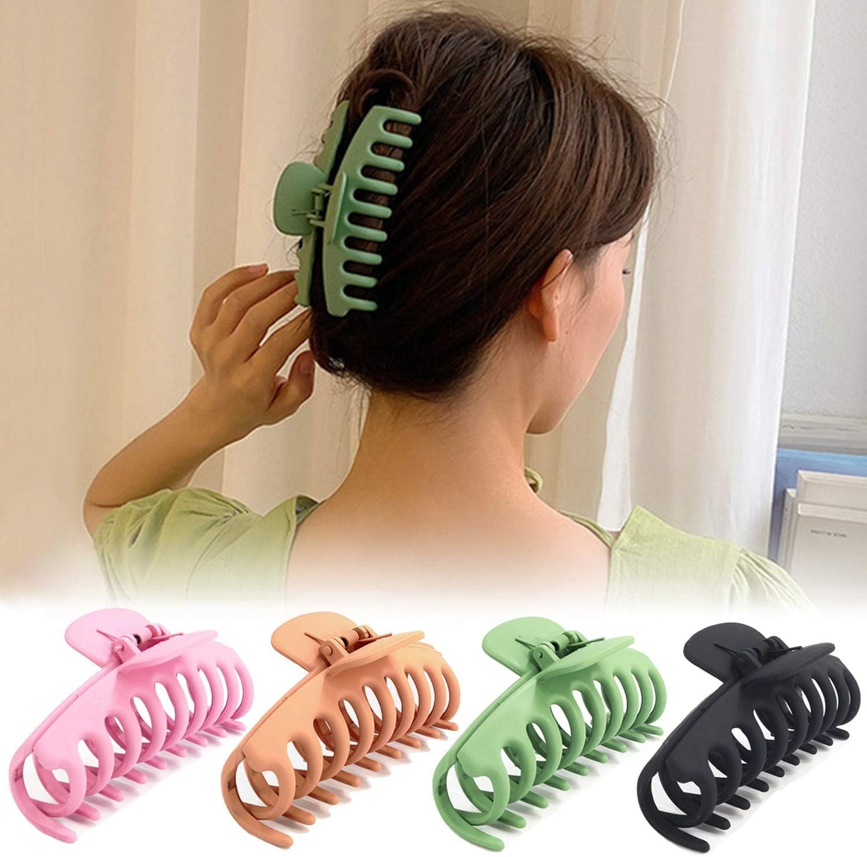 Large Shower Hair Clip Hairpin Back Head Clip Headdress Broken Hair Top Clip