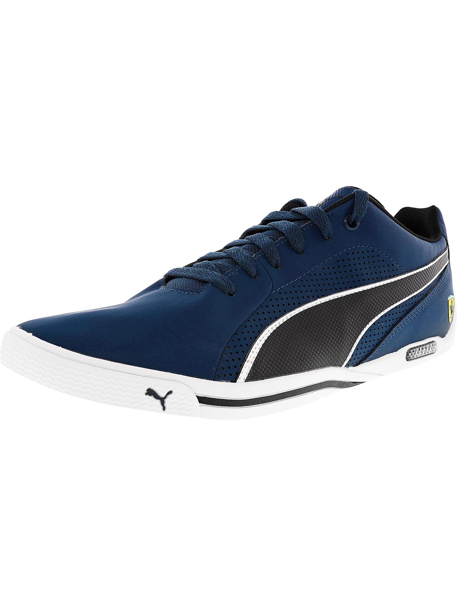 Puma Men's Ferrari Selezione Nm2 Blue Wing Teal / Black Ankle-High Fashion Sneaker - 12M