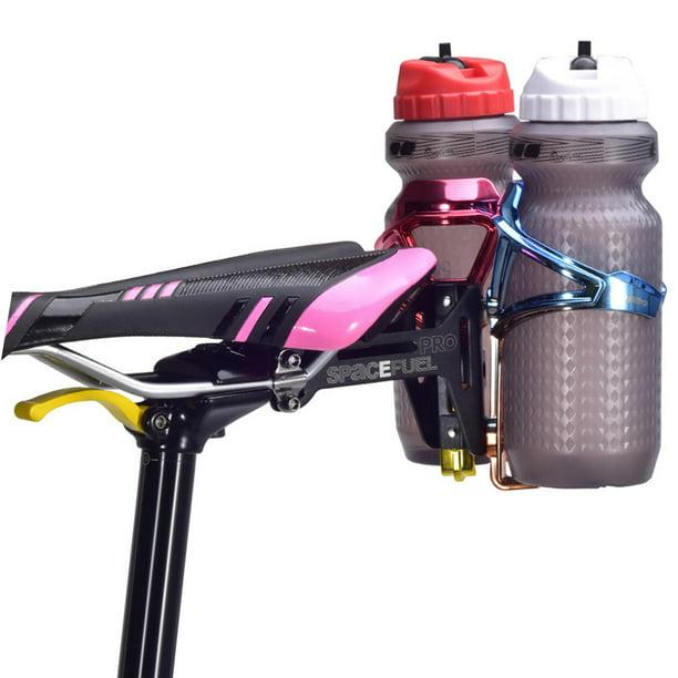 Details about  /Plastic+Aluminum Alloy 5 Colour Water Bottle Cages Bike Universal Bottles Holder