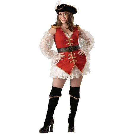 Morris Costumes Womens New Pirate Treasure Lace Adult Costume 2XL, Style IC5207XXL](Treasure Costume)