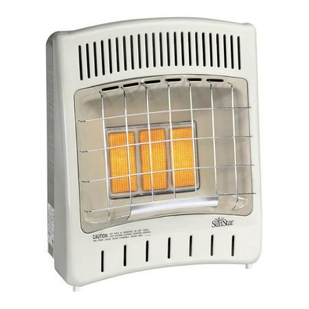 - SunStar Liquid Propane Infrared Heater (Manual Temperature Control)