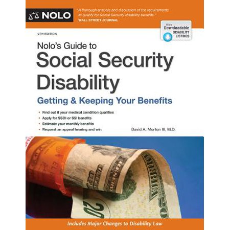 Nolo's Guide to Social Security Disability (Buying A Car On Social Security Disability)