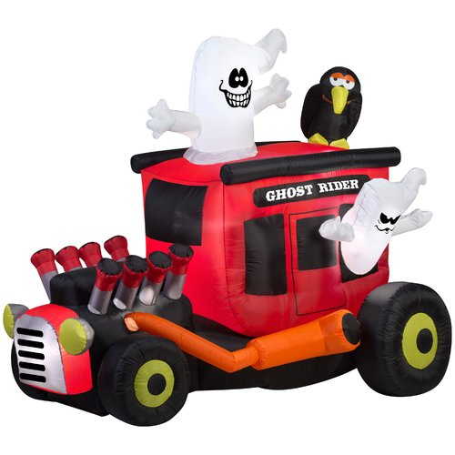 The Holiday Aisle Animated Ghost Rider Inflatable