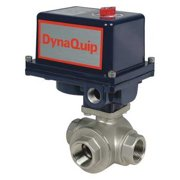 DYNAQUIP CONTROLS Electronic Ball Valve,SS,3/4 In. EYSA4AJE25H