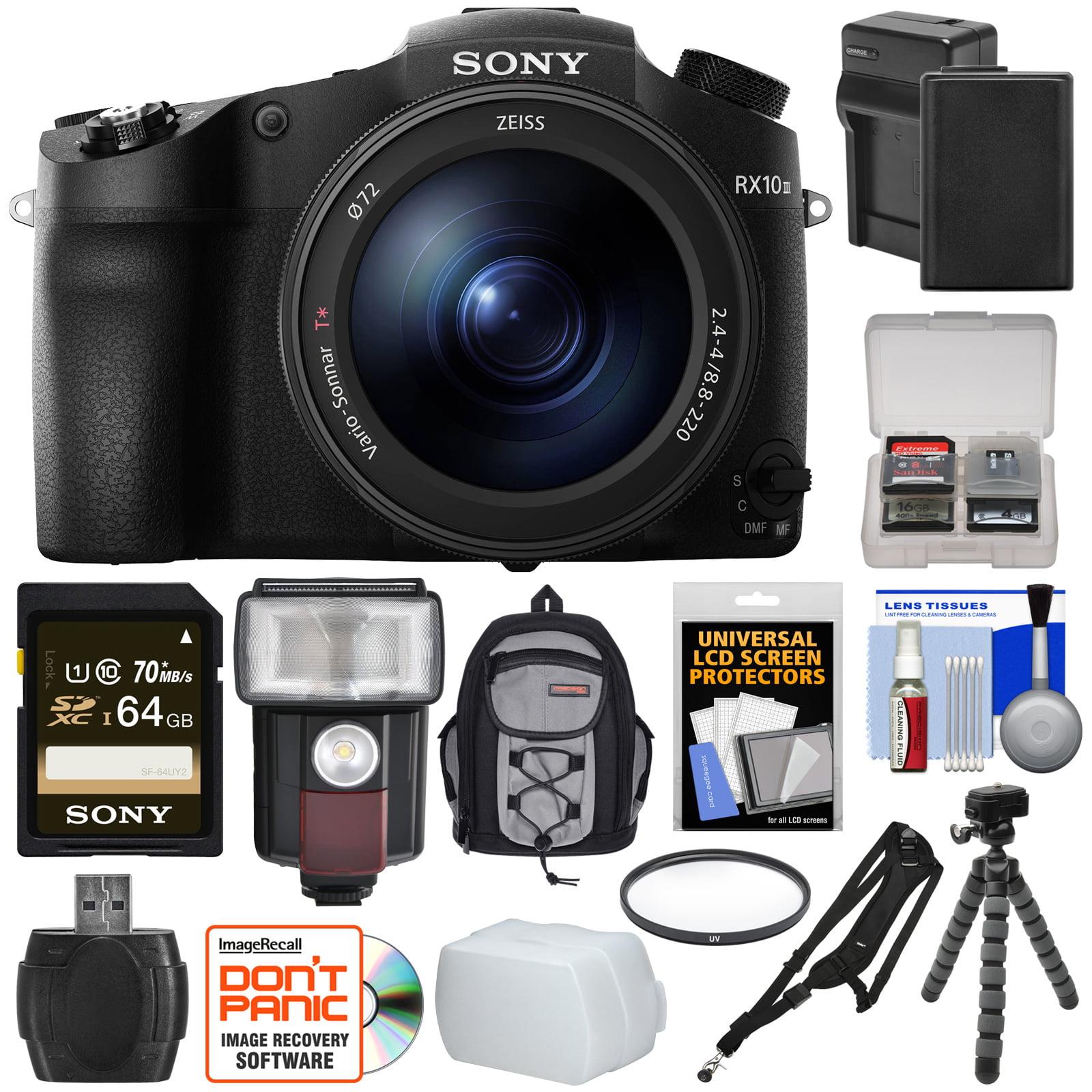 Sony Cyber Shot Dsc Rx10 Iii 4k Wi Fi Digital Camera With