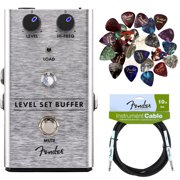 Fender Level Set Buffer Pedal w/ Instrument Cable