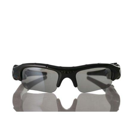 Digital Video Camcorder Easy Connect Sports Sunglasses w/ MicroSD Slot