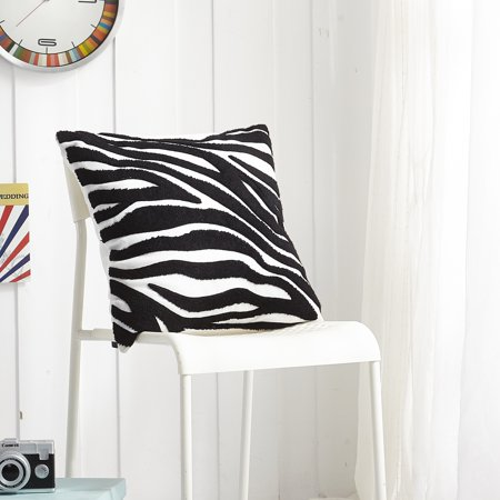 Funky Zebra Decorative Pillow (Casa Zebra Decorative Pillow )