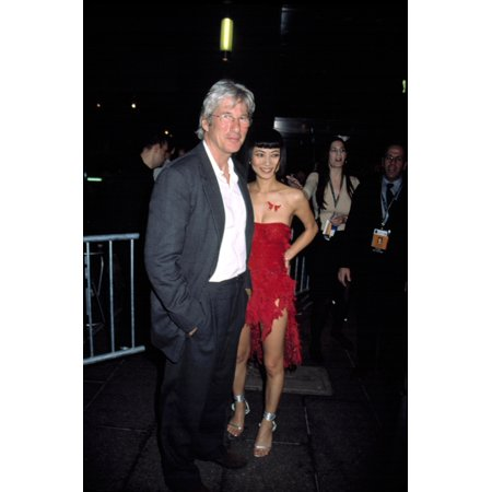 Richard Gere And Bai Ling At The Tribeca Film Festival Nyc 572003 By Cj Contino Celebrity - Halloween Films Nyc