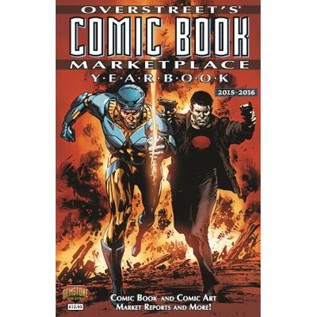 Overstreets Comic Book Marketplace Yearbook 2015 2016
