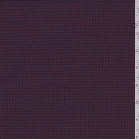 Luxury Herringbone Fabric - Brick Red Herringbone Suiting, Fabric Sold By the Yard