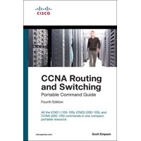 Portable Command Guide: CCNA Routing and Switching Portable Command Guide (Icnd1 100-105, Icnd2 200-105, and CCNA 200-125) (Paperback)