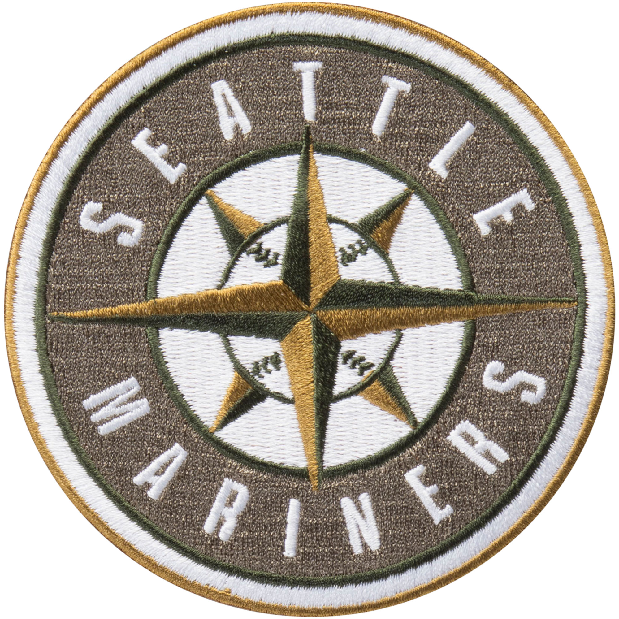 Seattle Mariners MLB 2018 Memorial Day USMC Logo Patch - No Size