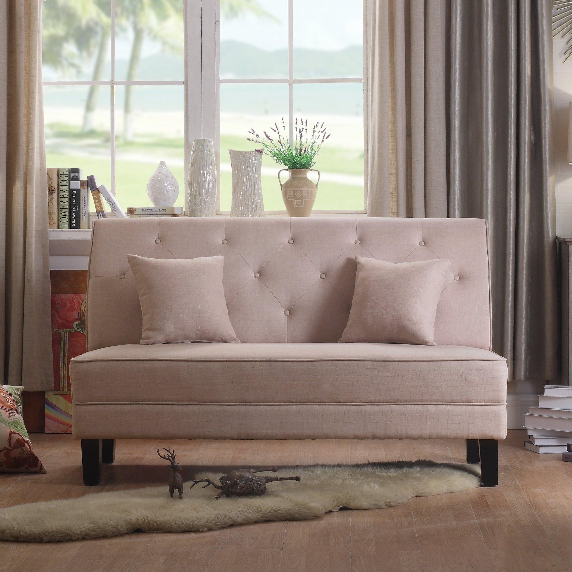 Alton Furniture Grana Tufted Loveseat, Multiple Colors