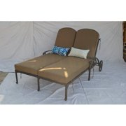 Double Chaise Patio Lounge Chairs