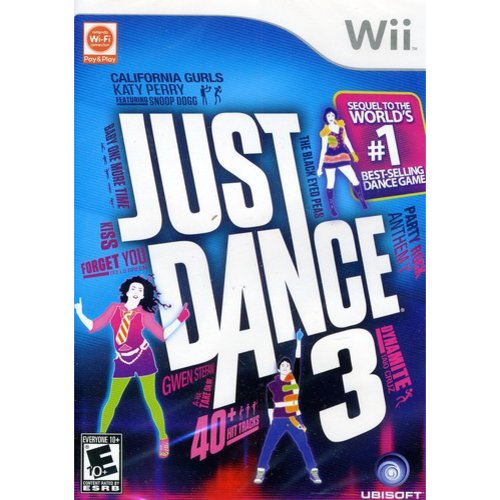 Just Dance 3 (Wii) Ubisoft