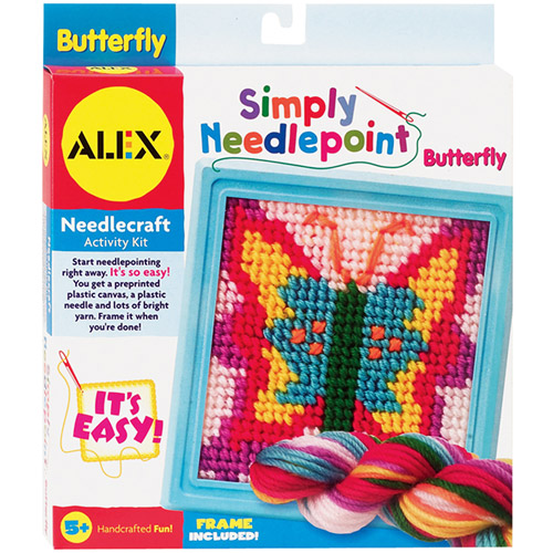 ALEX Toys - Simply Needlepoint Kit, Butterfly