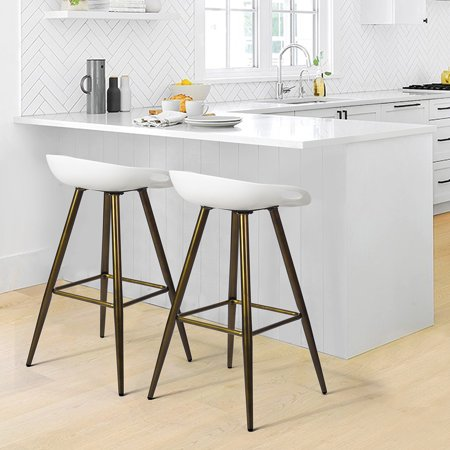 Pleasant Zf Collections Designer Fixed Height Multipurpose Bar Stool Set Of 2 Walmart Canada Ocoug Best Dining Table And Chair Ideas Images Ocougorg