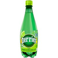 Perrier Sparkling Lime Natural Mineral Water, 16.9 Fl. Oz.