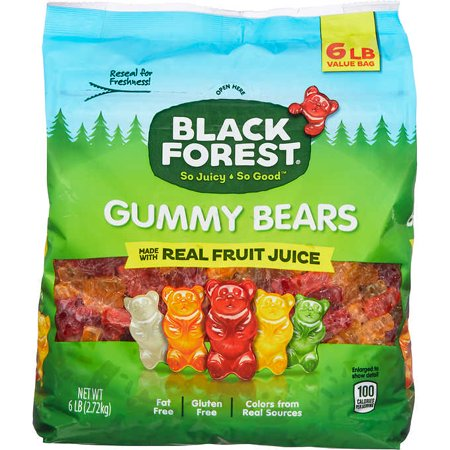 Black Forest Gummy Bears, 6 lbs. Black Forest Gummy Worms
