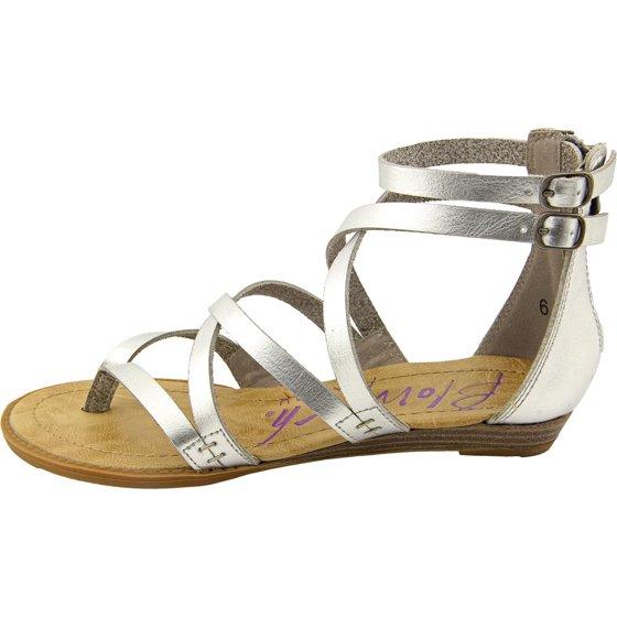 bf263dd21f17 BLOWFISH - Blowfish Bungalow Women US 10 Silver Gladiator Sandal ...