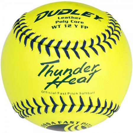 "Dudley 12"" USSSA Thunder Heat Fastpitch Softballs, 12 Pack"