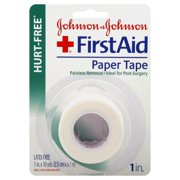 Johnson & Johnson Johnson & Johnson First Aid Paper Tape, 1 ea