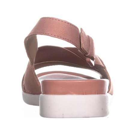 51dcd5bc262a naturalizer Eliza Flat Ankle Strap Sandals