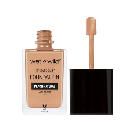 wet n wild Photo Focus Foundation, Peach Natural