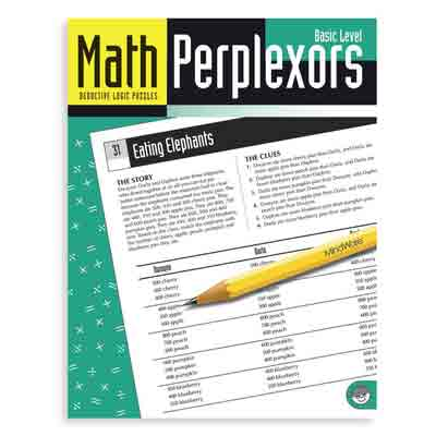 Math Perplexors: Basic Level (Ages 6 to - Mindware Perplexors