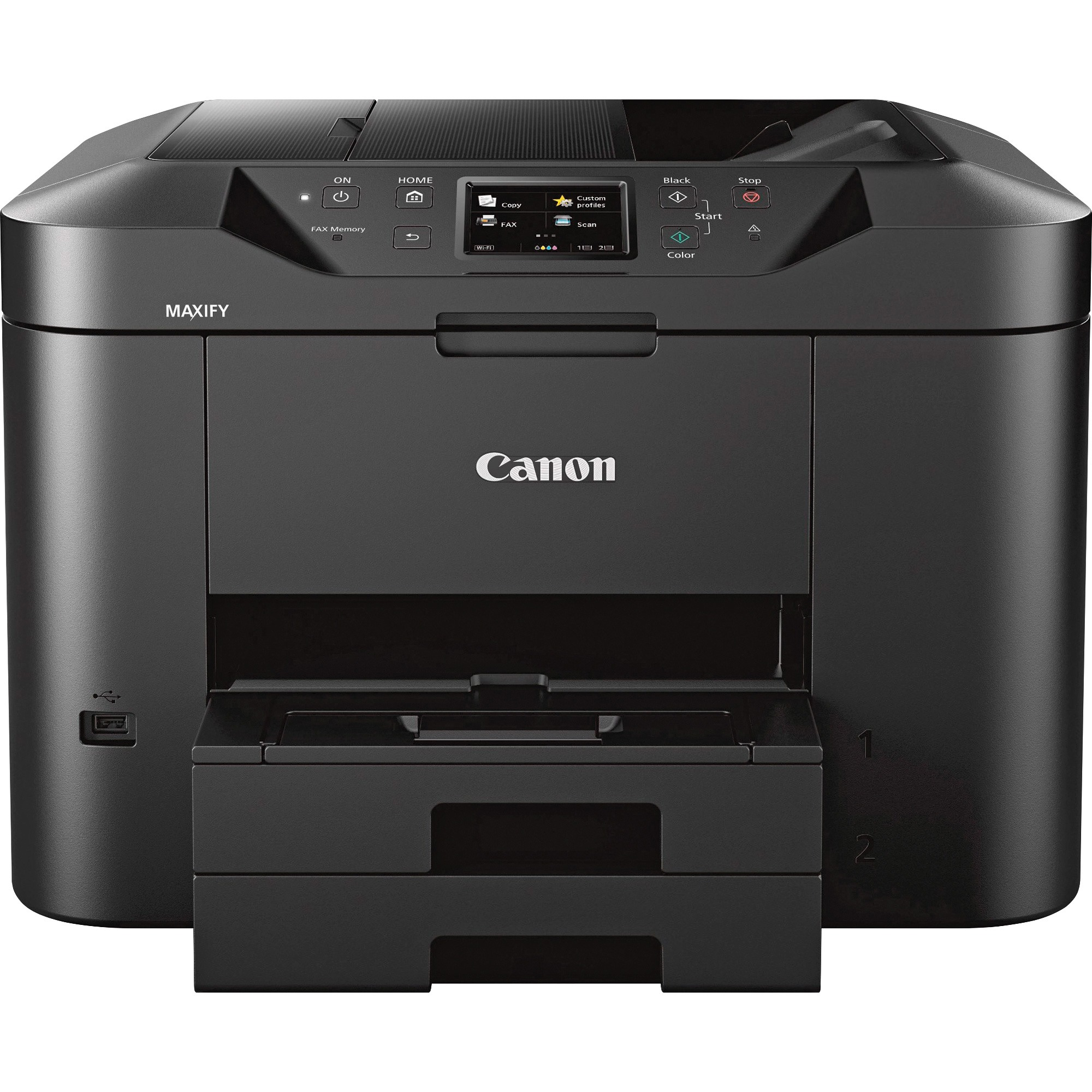 Canon MAXIFY MB2720 Inkjet Multifunction Printer - Color - Plain Paper Print - Desktop